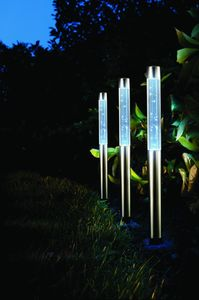 Sparkling Solar Bubble Garden Lights / Set Of Three - lighting