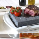Black Rock Grill Steak Stones And Plate Set