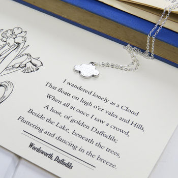 Wordsworth Silver Cloud Necklace