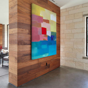 Catalonia, Ready To Hang Abstract Art - home accessories