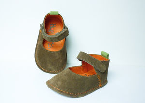 Haylie Soft Sole Baby Shoes - clothing