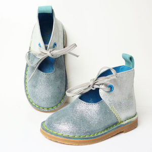 Hannah Children's Lace Up Boots
