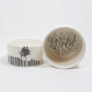 Botanical Tapas Dishes - fresh floral homeware