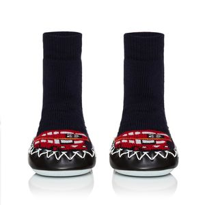Child's London Calling Moccasins - london-themed