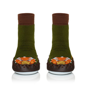 Child's Tri Moccis Sox Moccasins