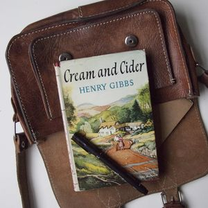 'Cream And Cider' Vintage Notebook