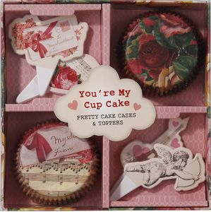 Love Talk Cupcake Kit - cupcake cases