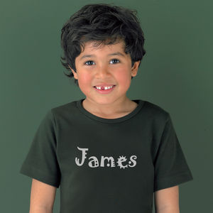 Child's Personalised Name T Shirt