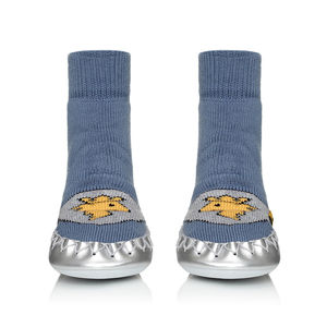 Shiny Knight Kids Moccasin Slippers