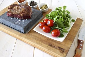 Bamboo Steak On The Stone Premium - kitchen