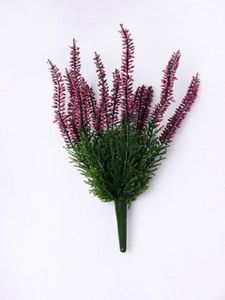 Artificial Heather Bush - flowers, plants & vases