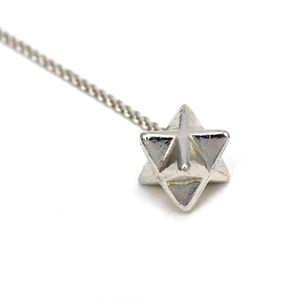 Merkaba Star Necklace