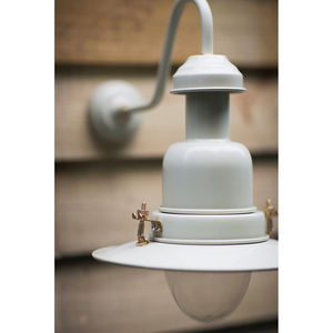 Fishing Light Wall Lamp In Clay - lights & lanterns
