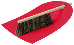 Dustpan And Brush Black/Red/Green/Grey - tools & equipment
