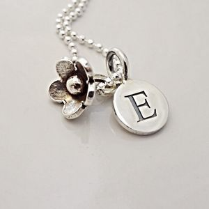 Flower Girl Necklace - necklaces & pendants