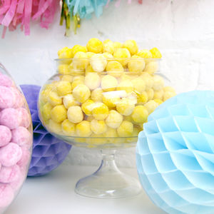 Round Pedestal Sweets Jar - table decorations