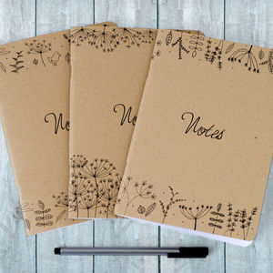Nature Illustration Notebooks