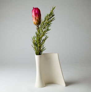 Medium Scroll Vase - flowers, plants & vases