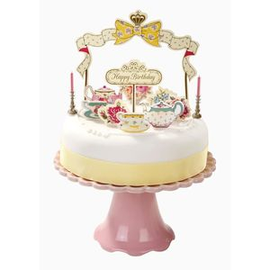 Vintage Style Birthday Cake Decorations - little party extras