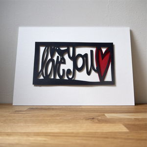 Personalised Mothers Day Papercut - prints & art
