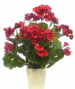 Artificial Geranium Plant - home accessories