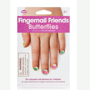 Fingernail Stickers Butterfly - nail care