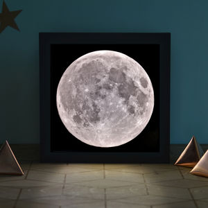 Full Moon Light Box - lighting