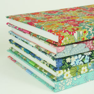100 Personalised Fabric Notebook For Jo At Gva - diaries & journals