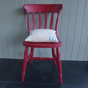 Farmhouse Chair Hand Painted In Any Colour - furniture