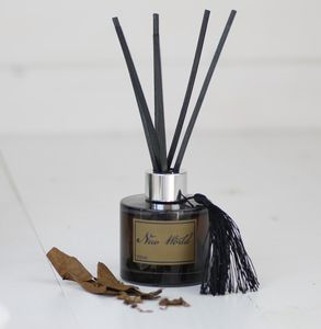 New World, Vanilla And Tobacco Scented Room Diffuser - candles & home fragrance