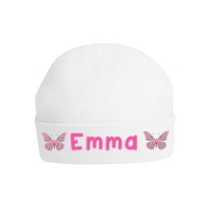 Personalised Butterfly Baby Hat - hats, scarves & gloves