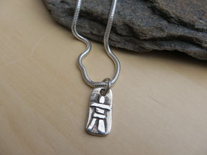 Inukshuk Pendant - necklaces & pendants
