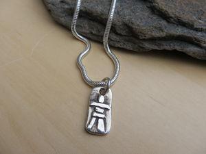 Inukshuk Pendant - necklaces