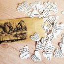 Alice In Wonderland Book Confetti