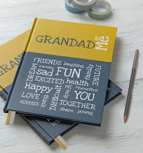Grandad And Me - memory books & keepsake albums