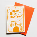 Otterly Awesome Greeting Card