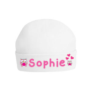 Personalised Owl Baby Hat - babies' hats