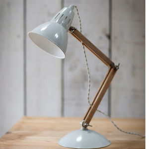 Oak Desk Lamp - desk lamps
