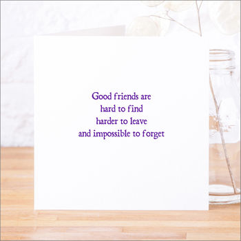 Good_Friends_Are_Hard_To_Find_Purple