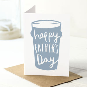 Father's Day Beer Card - summer sale