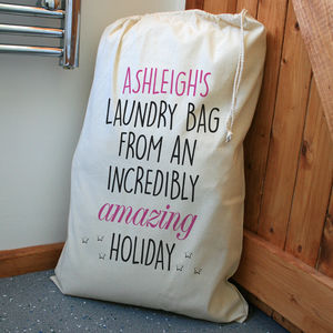 Personalised Laundry Bag - storage