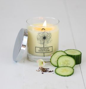 Vicarage Tea Scented Candle - candles & candle holders