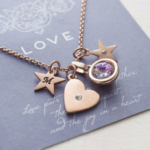 Design Your Own Heart Necklace - personalised gifts for her