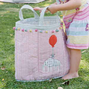 Children's Padded Toy Bags - storage