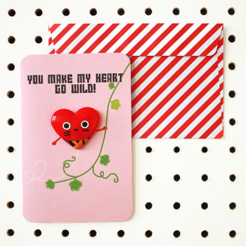Love Heart Magnet Cards