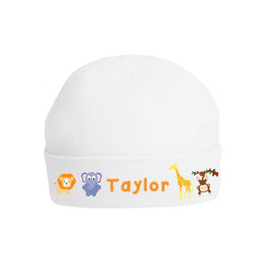 Personalised Animal Baby Hat - babies' hats