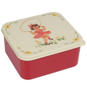Vintage Girl Lunch Box - lunch boxes & bags