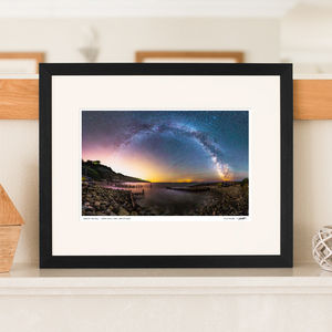 'Galactic Rainbow' Milky Way Print - contemporary art