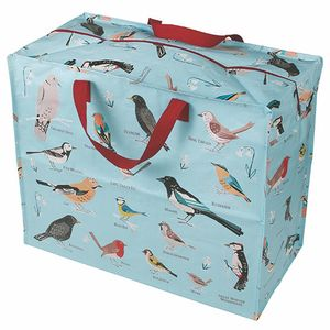 Large Bird Print Storage Bag - storage & organisers