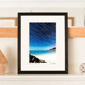 'Streaks In The Sky' Star Trail Print - photography & portraits